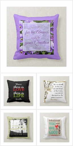 Throw Pillows With Quotes
