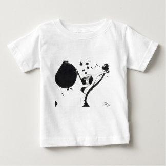 Throw some music. baby T-Shirt