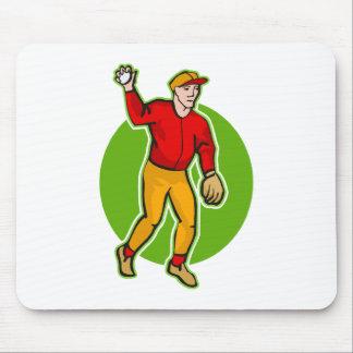 throw the baseball mouse pad
