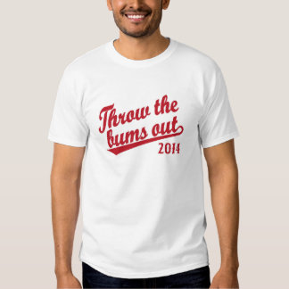 Throw the bums out 2014 red T-Shirt