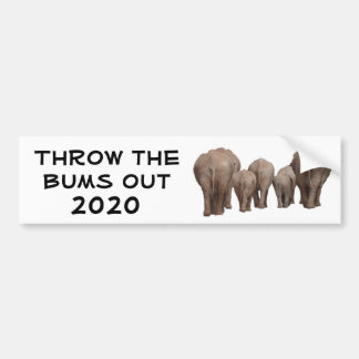 Throw the Bums Out 2020 Bumper Sticker