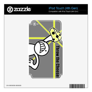 Throw the cheese (from asdf movies-youtube) iPod touch 4G skin