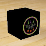 Throw The Dice Witches Bunco Box Favor Boxes