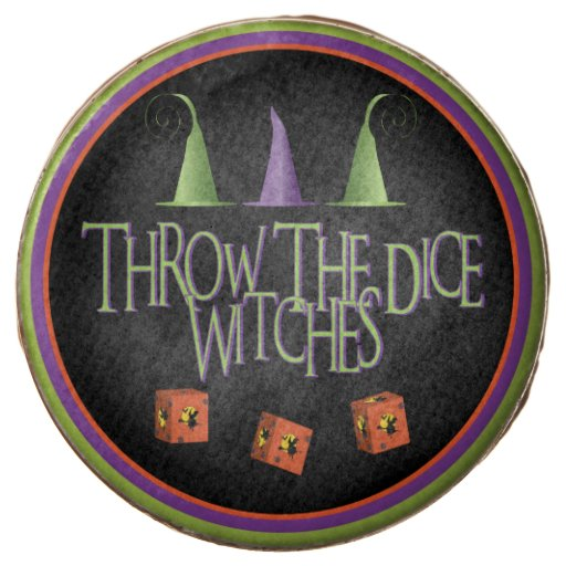 Throw The Dice Witches Bunco Dessert Chocolate Covered Oreo