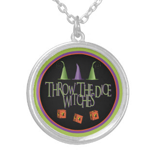 Throw The Dice WItches Necklace