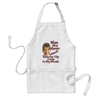 Throw-Up A Little... Adult Apron