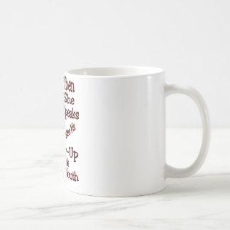 Throw-Up A Little... Coffee Mug
