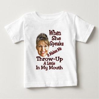 Throw-Up  just a little... Baby T-Shirt