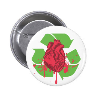 Throw your Heart Pinback Button