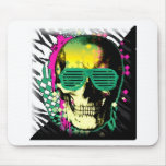 Throwback Skull Mouse Pad