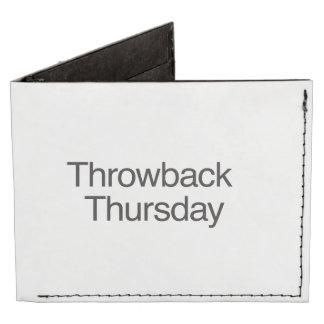Throwback Thursday Tyvek Wallet