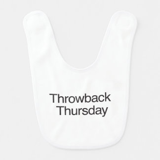 Throwback Thursday Baby Bib