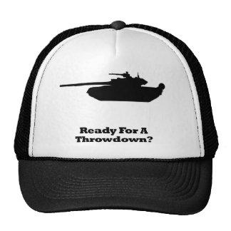 Throwdown del tanque gorros