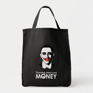 THROWING AWAY YOUR MONEY BAG