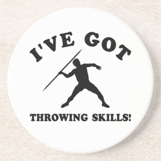 Throwing designs and gift items beverage coaster