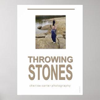 Throwing Stones Print