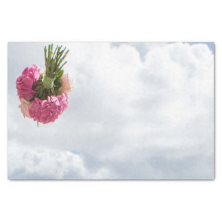 "Throwing the Bouquet Tissue Paper 10"" X 15"" Tissue Paper"