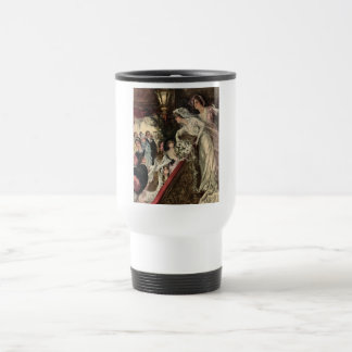 Throwing the Bouquet Travel Mug