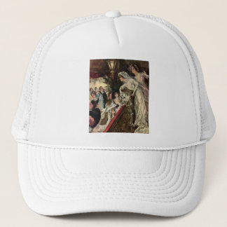 Throwing the Bouquet Trucker Hat