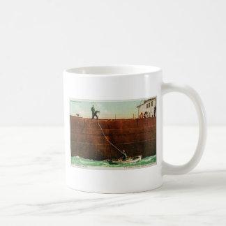 Throwing the Line Coffee Mug