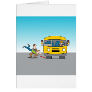 Thrown Under Bus Card