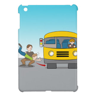 Thrown Under Bus iPad Mini Cases