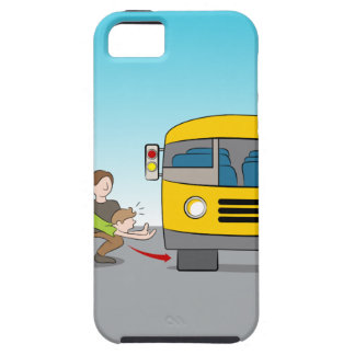 Thrown Under Bus iPhone SE/5/5s Case