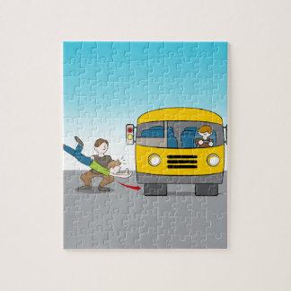 Thrown Under Bus Puzzles