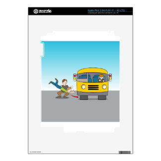 Thrown Under Bus Skins For iPad 3