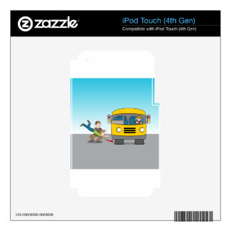 Thrown Under Bus Skins For iPod Touch 4G