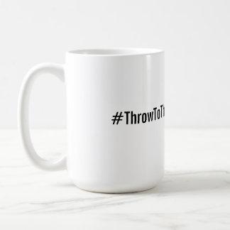 #ThrowToTheFro Mug