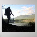 Thru-Hiker in Maine, Appalachian Trail Print