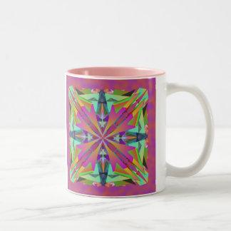 Thru the Looking Glass Two-Tone Coffee Mug