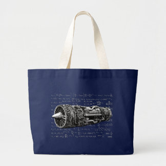 Thrust matters! large tote bag