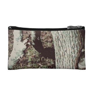 Thse Quiet Seasons January Oak Cosmetic Bag