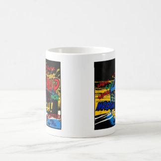 THUD cRASH! Classic White Coffee Mug