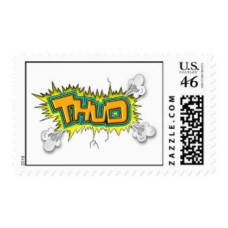 Thud Postage Stamp