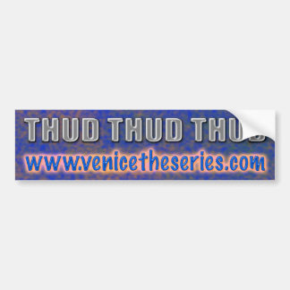 THUD Sticker