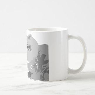 Thug Cat Classic White Coffee Mug