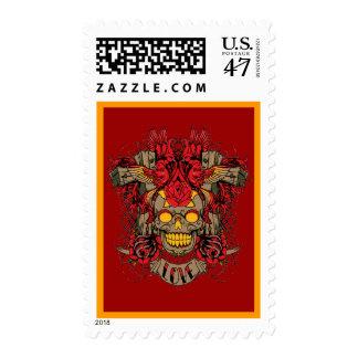 thug cross stamp