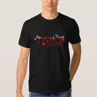 thug graffiti design t shirt