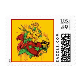 Thug heart Stamp