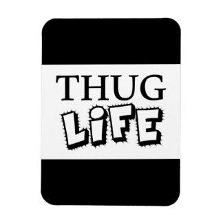 THUG LIFE ATTITUDE MOTTO GANGS GANGSTER TOUGH HOOD MAGNET