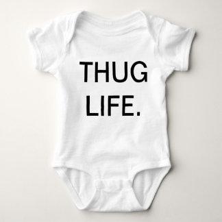 THUG LIFE BABY BODYSUIT