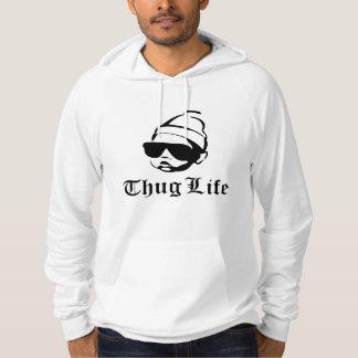 thug life baby hoodie