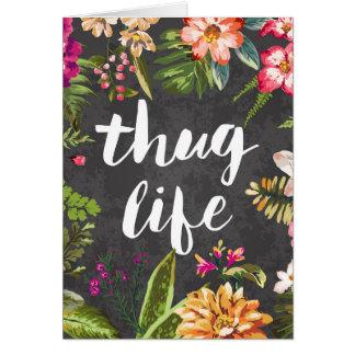 Thug life card