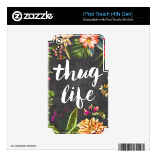 Thug life decals for iPod touch 4G