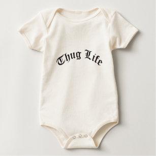 8ee8e746e5c THUG LIFE for babies Baby Bodysuit
