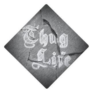 Thug Life Graduation Cap Topper