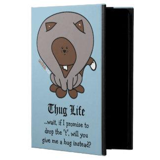 Thug Life Hoodie Cat Hug iPad Case